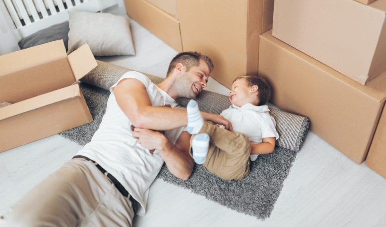 Moving home with children